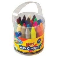 Kredki, Kredki woskowe Colorino Kids Maxi, 24 kolory (65580PTR)