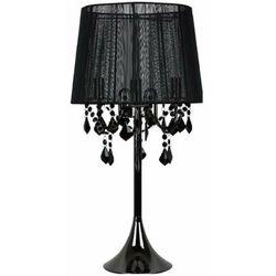 Lampa stołowa MONA czarna E14 LIGHT PRESTIGE