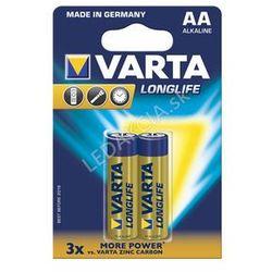 Baterie Varta LongLife AA 2x + Bezpłatna natychmiastowa gwarancja wymiany!