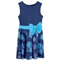 Spodnie dziecięce, Sukienka dziewczęca na uroczyste okazje bonprix kobaltowo-błękit laguny
