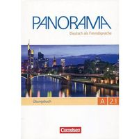 Książki do nauki języka, Panorama A2.1 UBungsbuch+DaF +CD (opr. miękka)