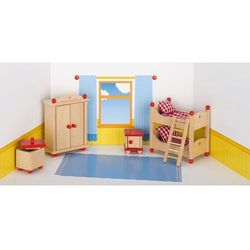 Mebelki do pokoju dziecka z czerownymi akcentami, 5 elementów