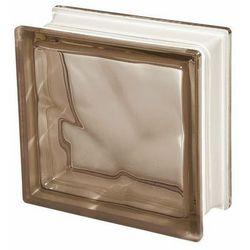 Pustak szklany Seves barwiony w masie brązowy