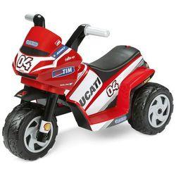 PEG PEREGO Mini Ducati czerwone - BEZPŁATNY ODBIÓR: WROCŁAW!