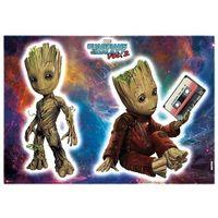 Naklejki na ściany, Naklejki na ścianę The Guardian of the Galaxy - Groot 14054h