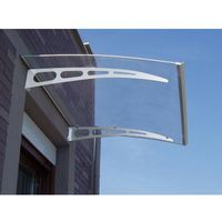 Pozostały wystrój okien, Zadaszenie proste NEONA z aluminium – 120 × 90 × 15 cm