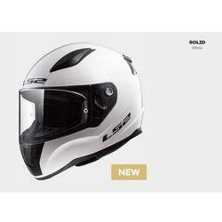KASK MOTOCYKLOWY KASK LS2 FF353 RAPID WHITE, model 2018!