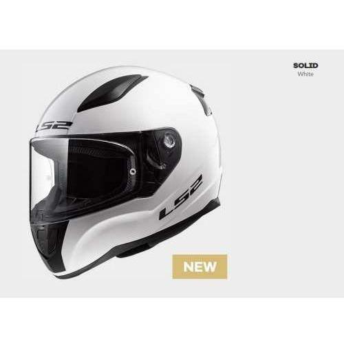 Kaski motocyklowe, KASK MOTOCYKLOWY KASK LS2 FF353 RAPID WHITE, model 2018!