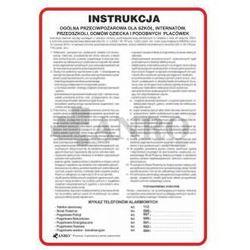 Instrukcja Ogólna Przeciwpożarowa dla szkół, internatów, przedszkoli, domów dziecka itp.