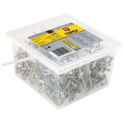 Nity aluminiowe 4.0x10 mm 43E421 /800szt./ GRUPA TOPEX