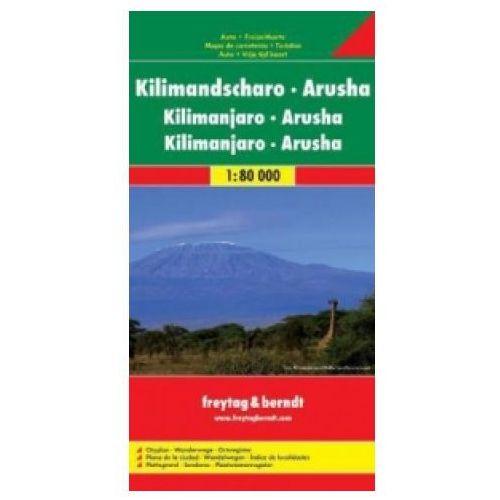 Mapy i atlasy turystyczne, Kilimanjaro-Arusha (opr. miękka)