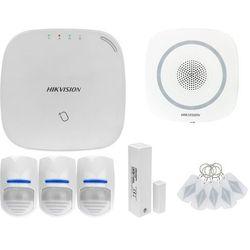 ZA12652 Bezprzewodowy system alarmowy GSM 4G 3 czujki ruchu HIKVISION z sygnalizatorem