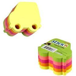 Karteczki samop. STICK'N Samochód 400k. 5 kolorów neon