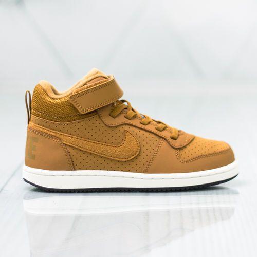 Buty sportowe dla dzieci, Nike Court Borough Mid PSV 870026-701