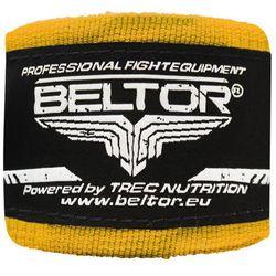 Beltor bandaż bokserski bawełniany żółty