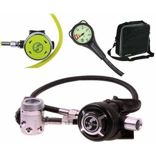 Automaty oddechowe, Automat Scubatech R 2 ICE Special zestaw I (automat+oktopus+manometr) 10003-7