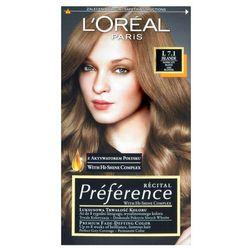 Recital preference farba do włosów nr 7,1 l islande - l'oreal paris darmowa dostawa kiosk ruchu marki Loreal
