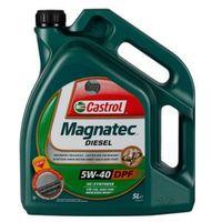 Oleje silnikowe, Castrol MAGNATEC Diesel 5W-40 DPF 5 Litr Pojemnik