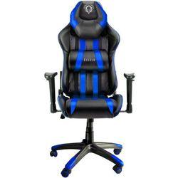 Fotel DIABLO X-One Czarno-niebieski + Zamów z DOSTAWĄ JUTRO! + DARMOWY TRANSPORT!