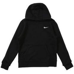 Nike Sportswear Bluza 'YA76 Brushed Fleece' czarny / biały