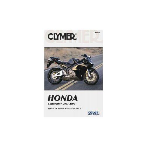 Biblioteka motoryzacji, Clymer Manuals Honda CBR600RR 2003-2006 M220