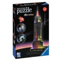 Puzzle, PUZZLE 3D 216 EL. EMPIRE STATE BUILDING NIGHT EDITION REKLAM