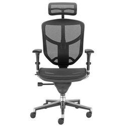 Krzesło obrotowe ENJOY HRMA - z zagłówkiem, biurowe, fotel biurowy, obrotowy