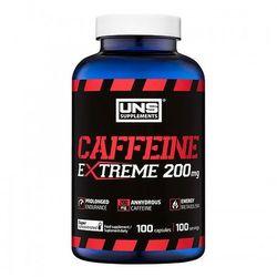Suplement energetyczny UNS Caffeine 200mg 100 kaps Najlepszy produkt Najlepszy produkt tylko u nas!
