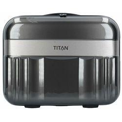 Titan Spotlight Flash Kuferek na kosmetyki 38 cm anthracite ZAPISZ SIĘ DO NASZEGO NEWSLETTERA, A OTRZYMASZ VOUCHER Z 15% ZNIŻKĄ