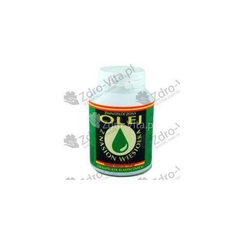 Pozostałe leki na układ krążenia, Olej z nasion wiesiołka kaps.elast. 0,35 g 150 kaps.