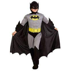 Kostium Bad Man z mięśniami dla chłopca - XL - 140 cm