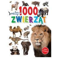 Literatura młodzieżowa, 1000 zwierząt - praca zbiorowa - książka (opr. broszurowa)