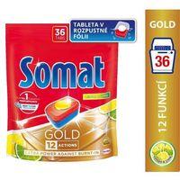 Kostki do zmywarek, Somat Gold Lemon & Lime Tabletki do mycia naczyń w zmywarkach 691,2 g (36 x 19,2 g)