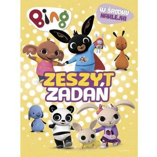 Książki dla dzieci, Bing. Zeszyt zadań (opr. miękka)