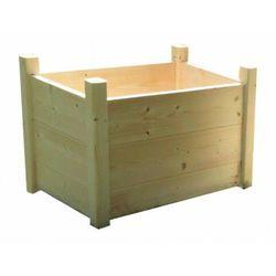 Drewniana prostokątna donica ogrodowa 15 kolorów - Umbra