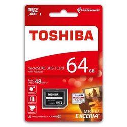 Karta Pamięci Toshiba micro SDHC 64GB ADAPTER class 10