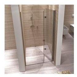 REA MYSPACE N Drzwi prysznicowe 70x190, profile chrom, szkło transparentne EasyClean