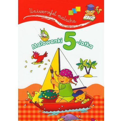 Książki dla dzieci, Malowanki 5-latka. Uniwersytet malucha (opr. broszurowa)