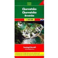 Mapy i atlasy turystyczne, Automapa Chorvatsko 1:500 000 freytag & berndt