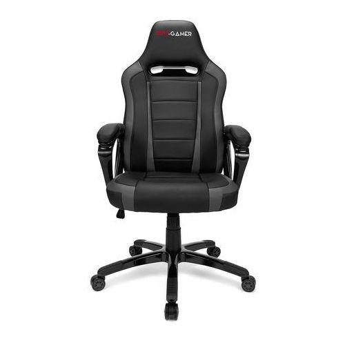 Fotele dla graczy, Fotel gamingowy ATILLA szary PRO-GAMER dla graczy