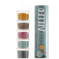 AILEFO Organiczna CIASTOLINA mała tuba 5 x 100g