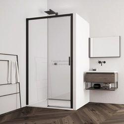 Sanswiss Top Line S drzwi do wnęki rozsuwane 100 cm lewe czarne TLS2G1000607