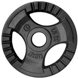Obciążenie żeliwne do sztangi grafitowe (28,5 mm) 1,25 kg - 1,25 kg