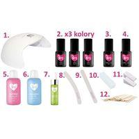 Urządzenia i akcesoria kosmetyczne, ZESTAW x19 produktów, lampa 48W