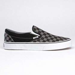 buty VANS - Vans Classic Slip-On black pewter checkerboard (BPJ) rozmiar: 44.5
