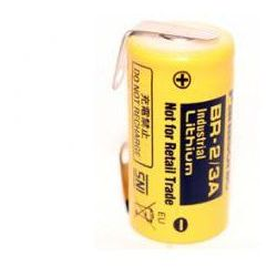 Bateria BR-2/3A-CNR Panasonic 3.0V 2/3A 17x33.5mm z blaszkami do lutowania BR2/3ACNR