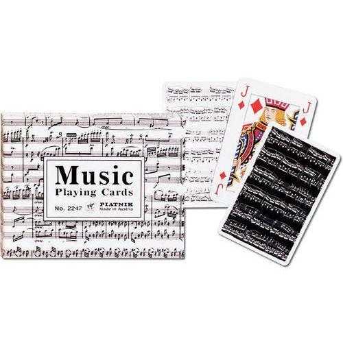Gry dla dzieci, Karty do gry Piatnik 2 talie Muzyka