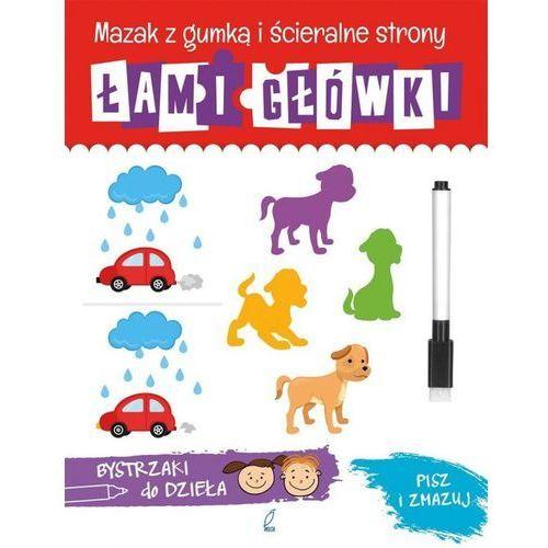 Książki dla dzieci, Łamigłówki. Bystrzaki do dzieła (opr. miękka)