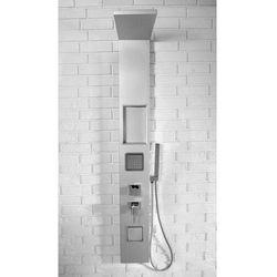 9765 Panel prysznicowy, srebrny