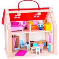 Pozostałe zabawki, Domek z wyposażeniem